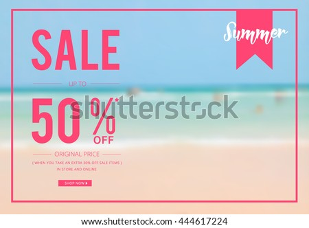 super sale banner template for your promotion - Download Free Vector ...