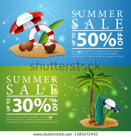 summer sale  two discount