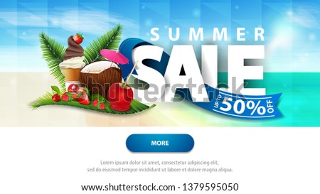 summer sales  discount web