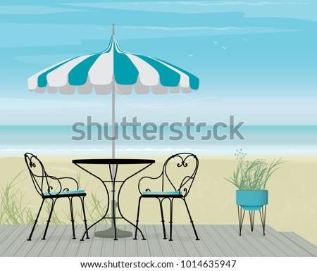 Download Beach Restaurant Wallpaper 1280x1024 Wallpoper