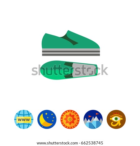 summer shoes icon