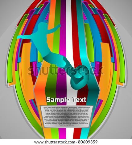 Summer Sport Design Series. Surfing Theme.