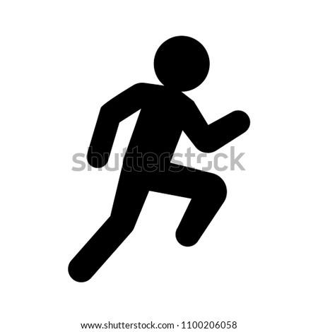 Summer sports - running icon