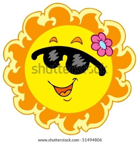 clipart flower pink. girlfriend smiley sun clipart.