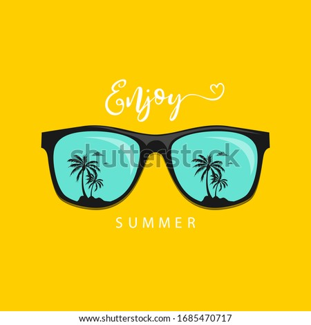 summer sunglasses with mint