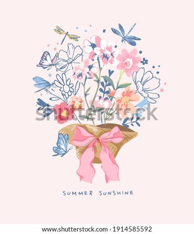 summer sunshine slogan with