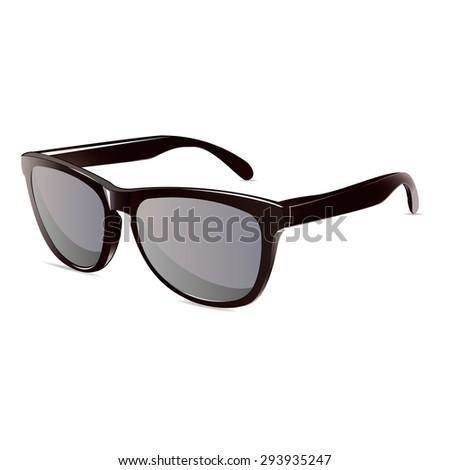 summer time sunglasses black