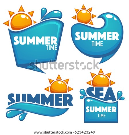 summer time  vector collection