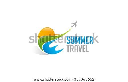 Summer Travel Logo