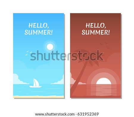 Summer Sailing Invite Template
