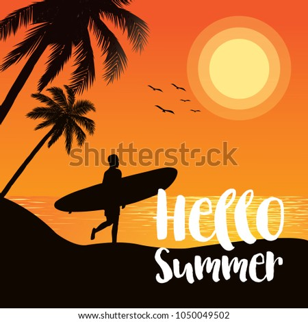 summer tropical backgrounds