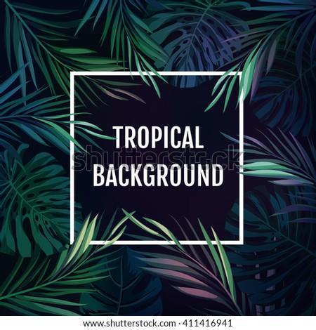 summer tropical hawaiian