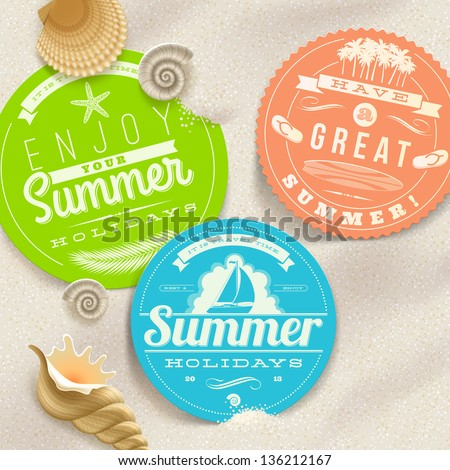 summer vacation and travel