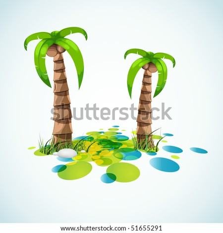 summer vacation stylish background