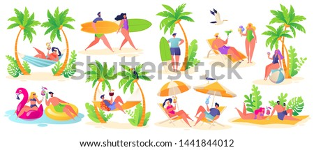 summer vacation theme outdoor