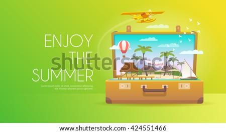 summer vacation vacation in