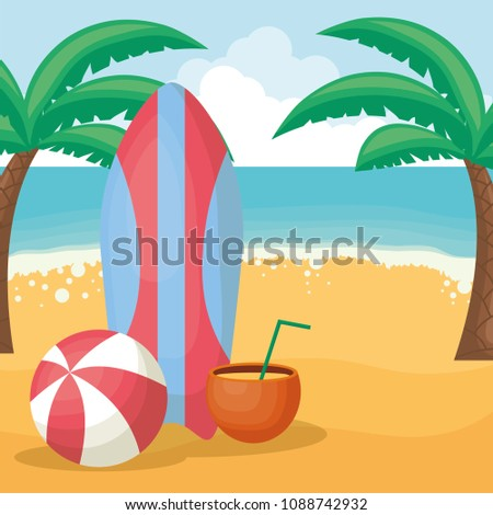summer vacations design
