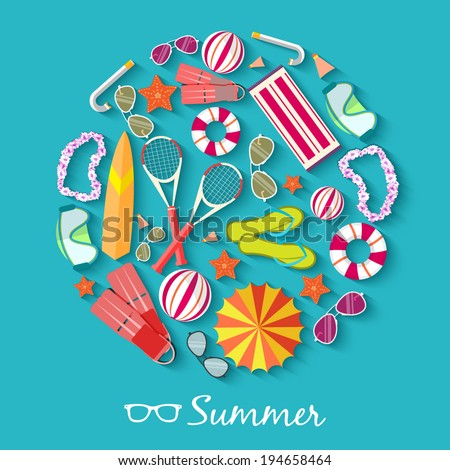 summer vecetion time background