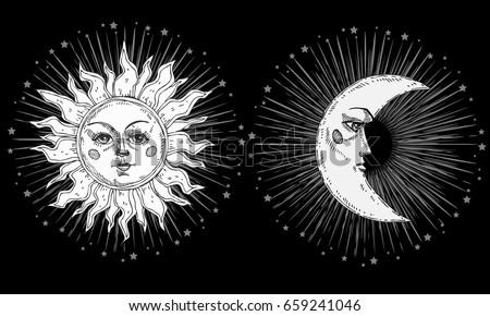 sun and moon brush free photoshop brushes at brusheezy