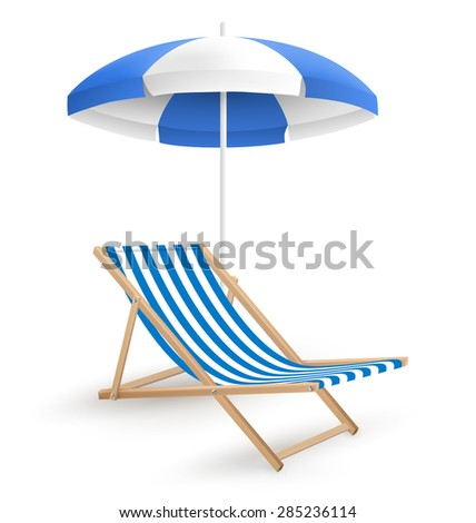 sun beach umbrella with beach