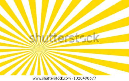 Sun beam ray sunburst pattern background summer. Shine Summer pattern.Vector.