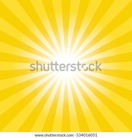 sun burst background lights