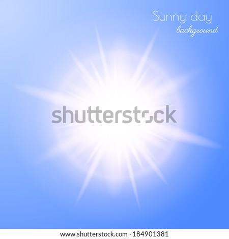 sun burst vector eps10