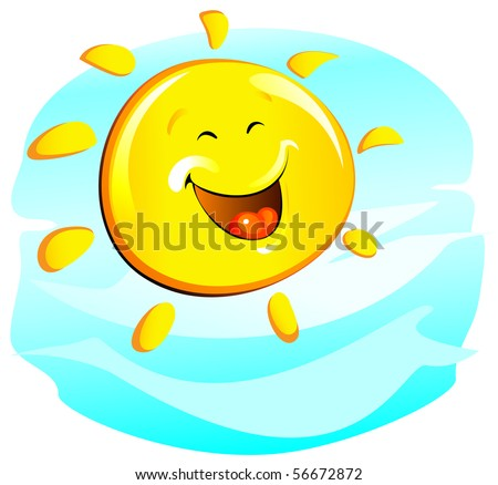 sun  cheerful