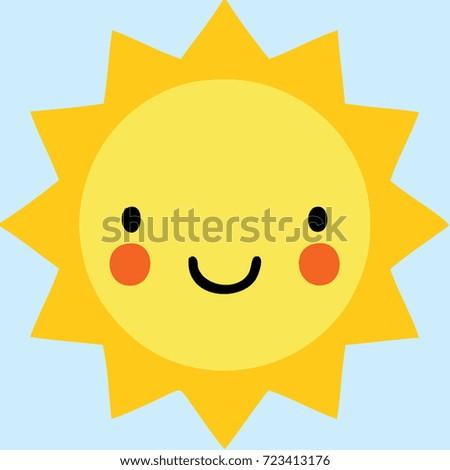 sun cute logo