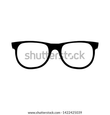 Sun glasses icon simple design