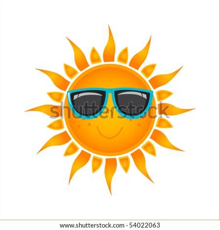 Sun icon. vector format
