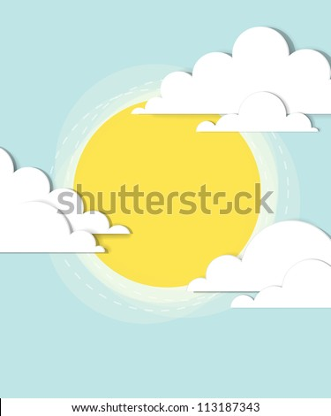 sun in the clouds