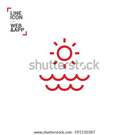 sun isolated minimal single