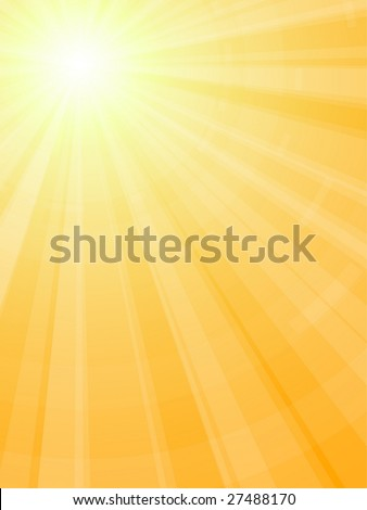 cartoon sun rays. stock vector : Sun rays