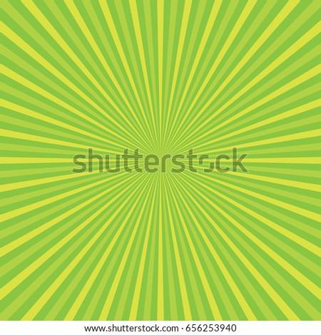 sun rays  green rays background