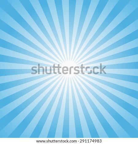 sun rays illustration vector
