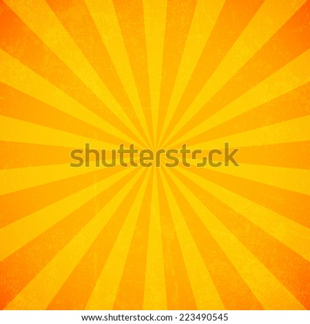 stock-vector-sun-rays-old-paper-with-stains-vector