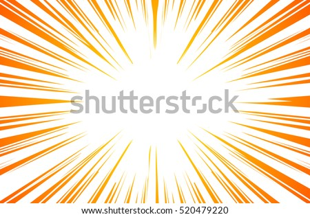 sun rays or explosion boom for