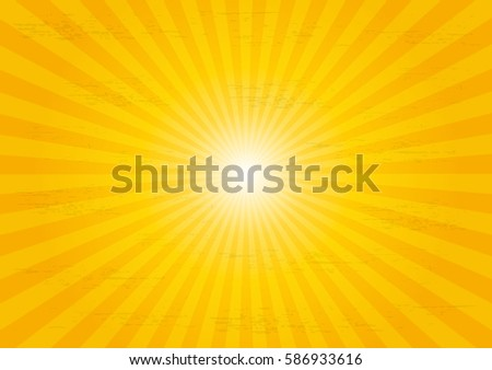 Sun rays sunburst pattern background.
