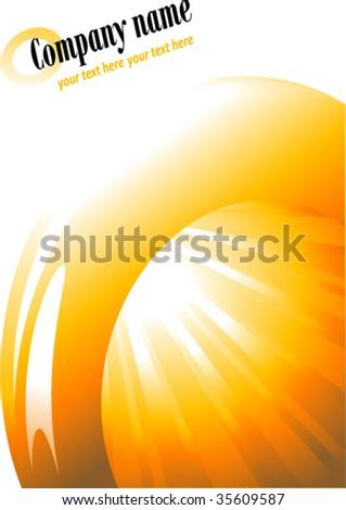 sun rays vector background