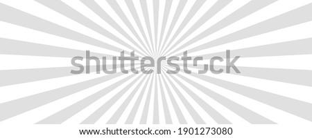 Sun rays vector background. Sun beam, burst effect. Sunbeam light boom template. Vector illustration. Сток-фото ©