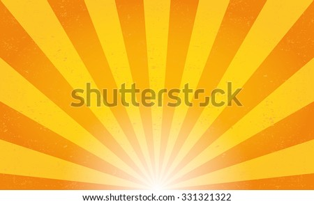 sun rays. vector illustration