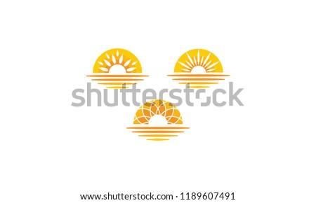 sun sunset sunrise sea shadow