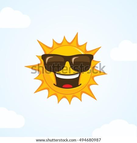 sun vector character