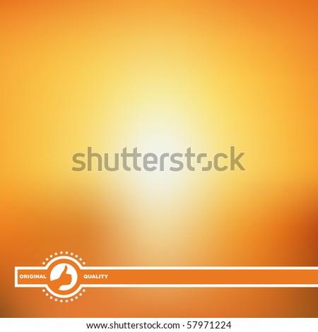 Sun. Vector creative background.