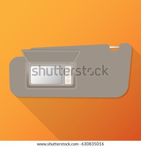 sun visor interior inside car