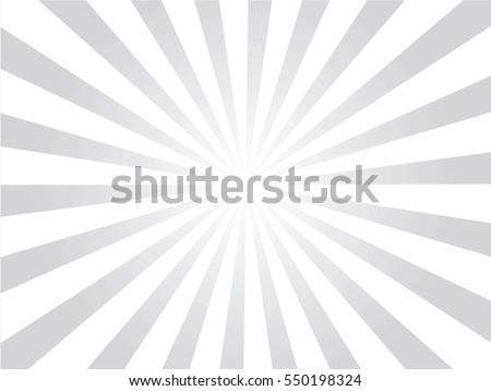 Sunburst background.gray and white sunburst. Vector illustration.