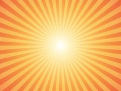 Sunburst background. Vector illustration