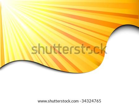 clip art sunburst