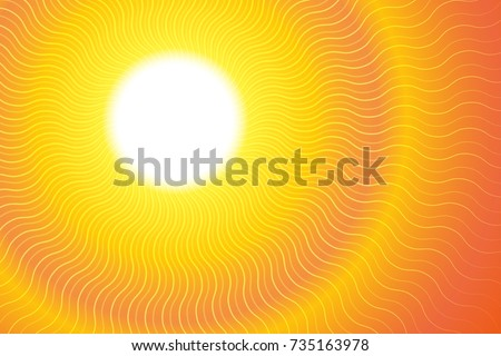 sunburst hot heat ray